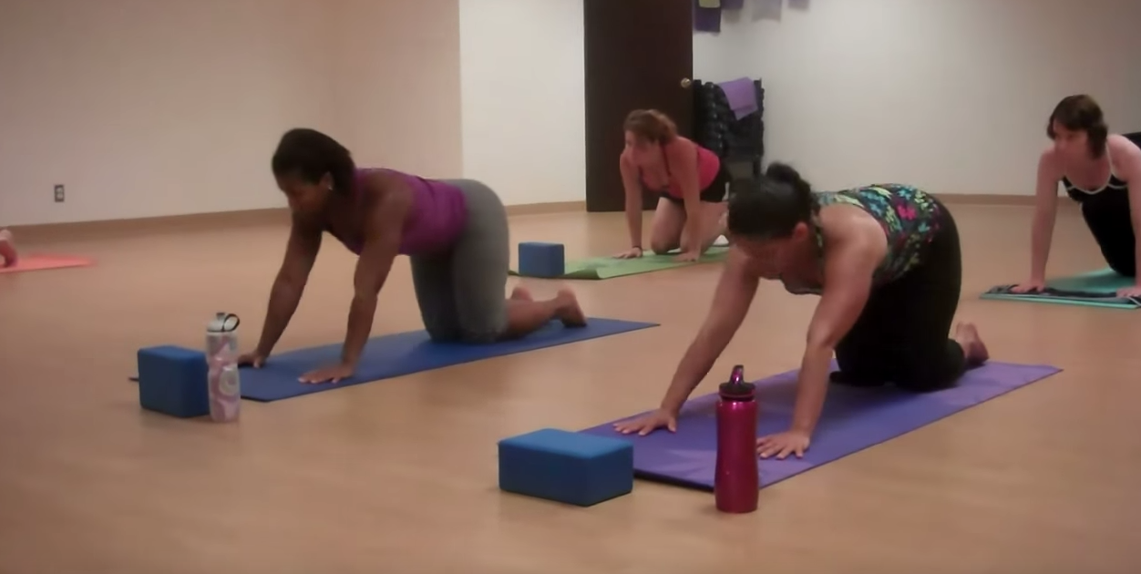 Take a Peek at the Core Flow Yoga class at the YMCA!