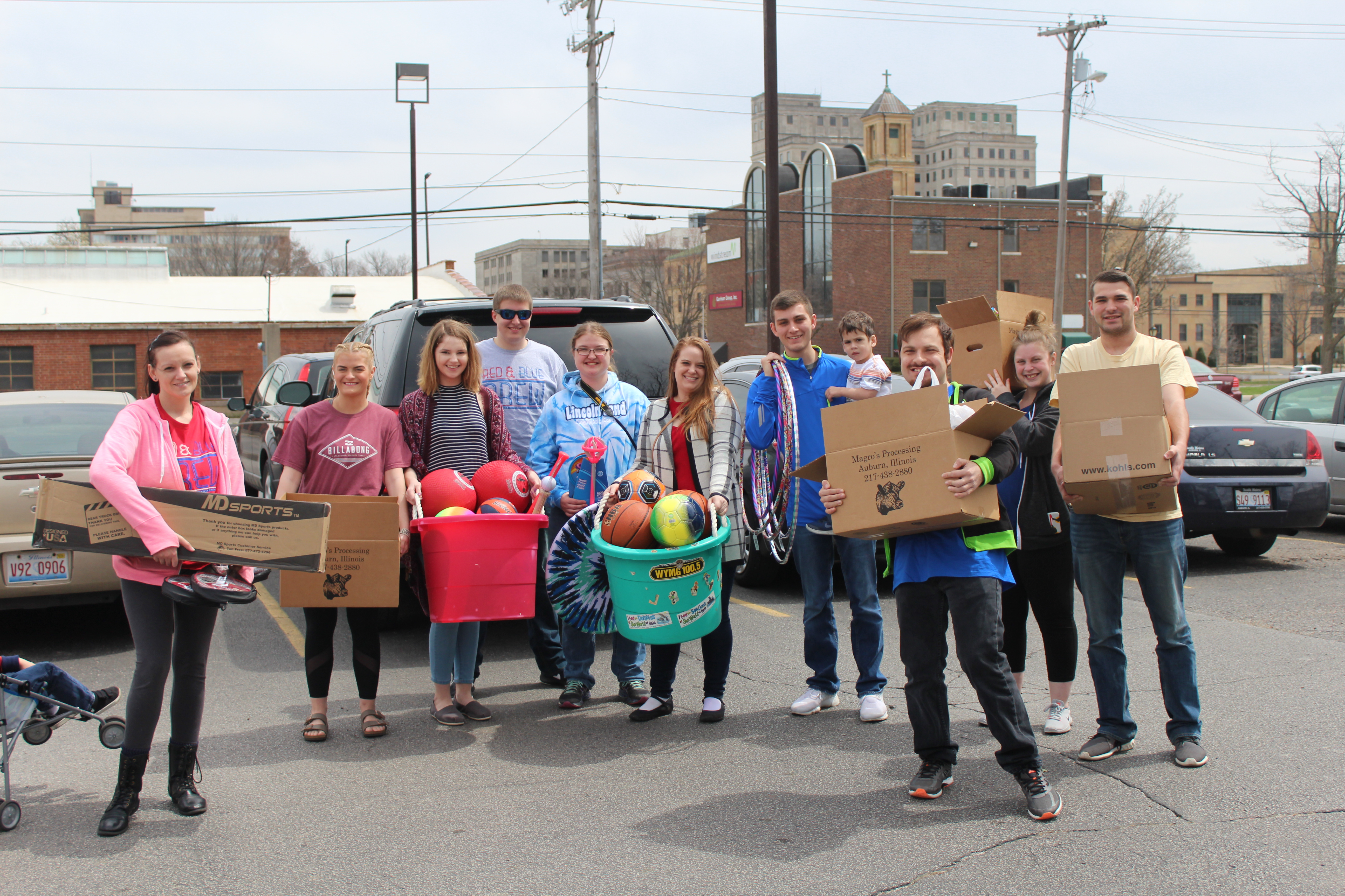 Lincoln Land Community College Students' Project Benefits YMCA Summer Camp & After School Kids