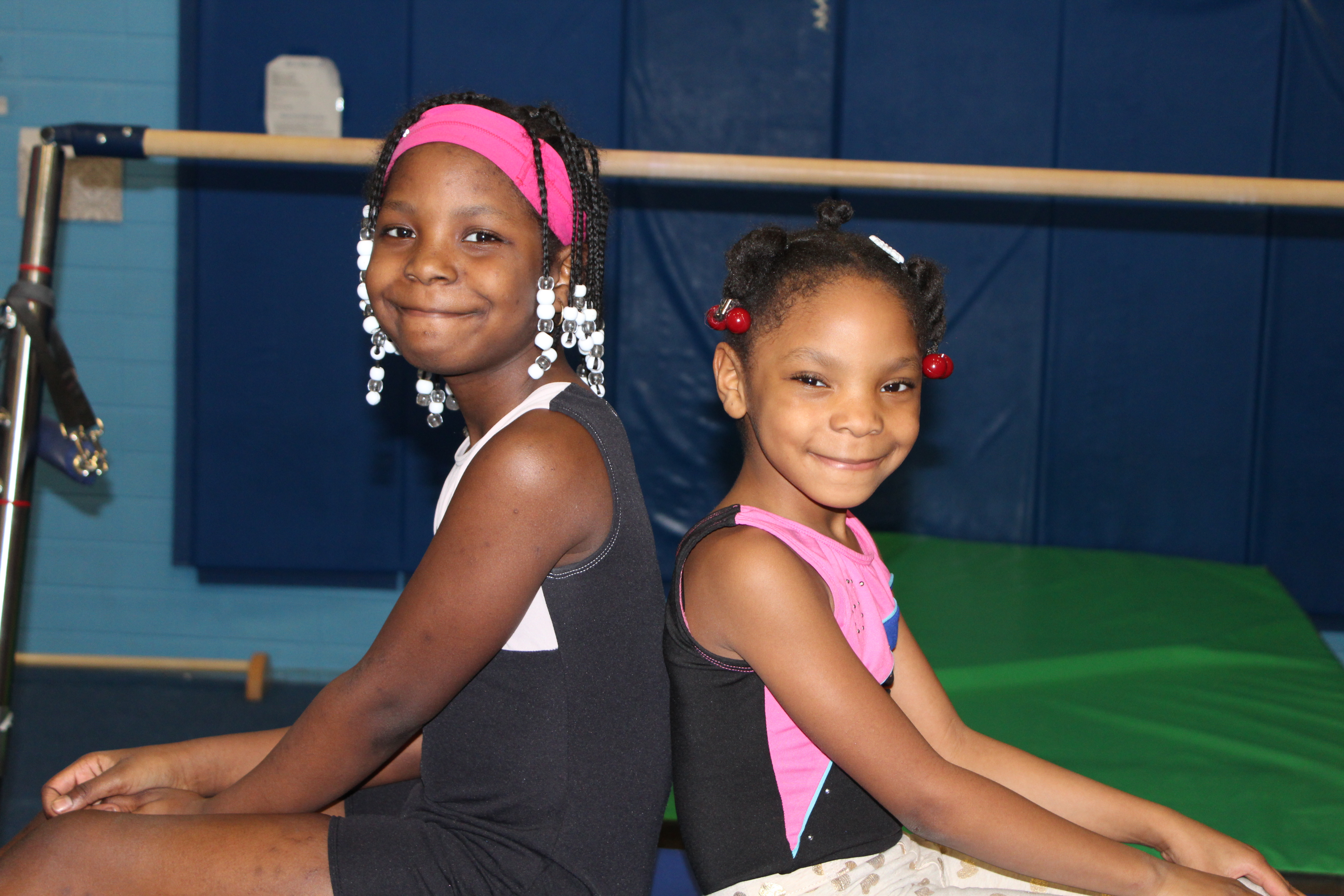 Family Reaps Benefits of Membership - Meet Aubree and Caleese - YMCA