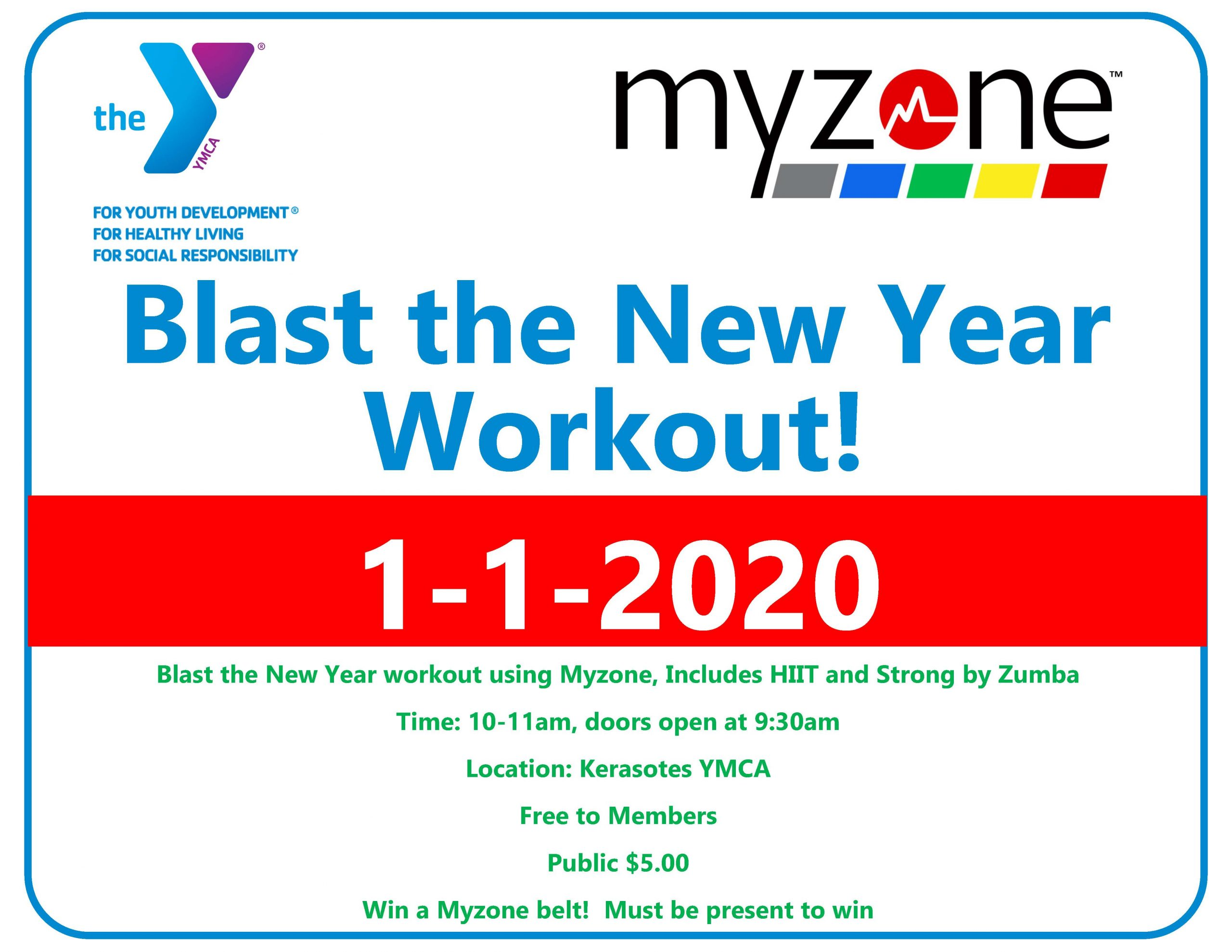 Blast the New Year Workout