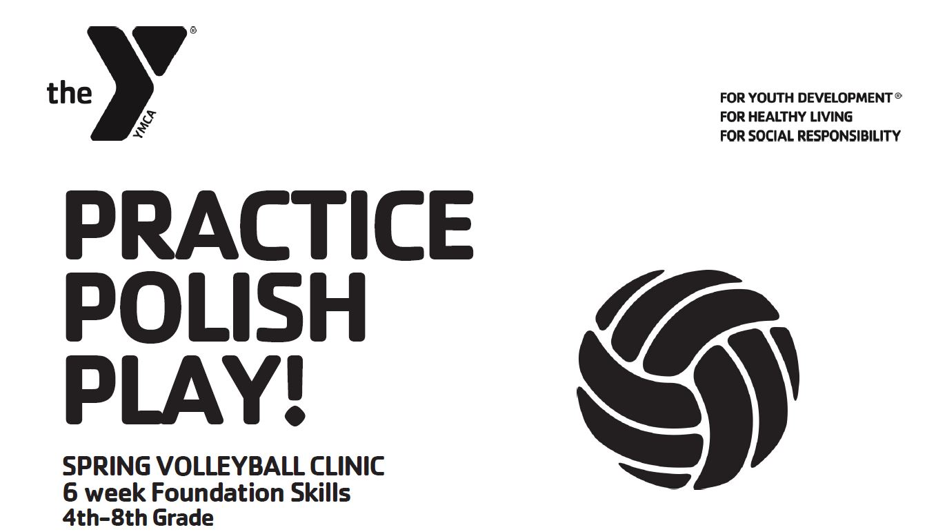 Youth Volleyball Clinic – Spring 2020