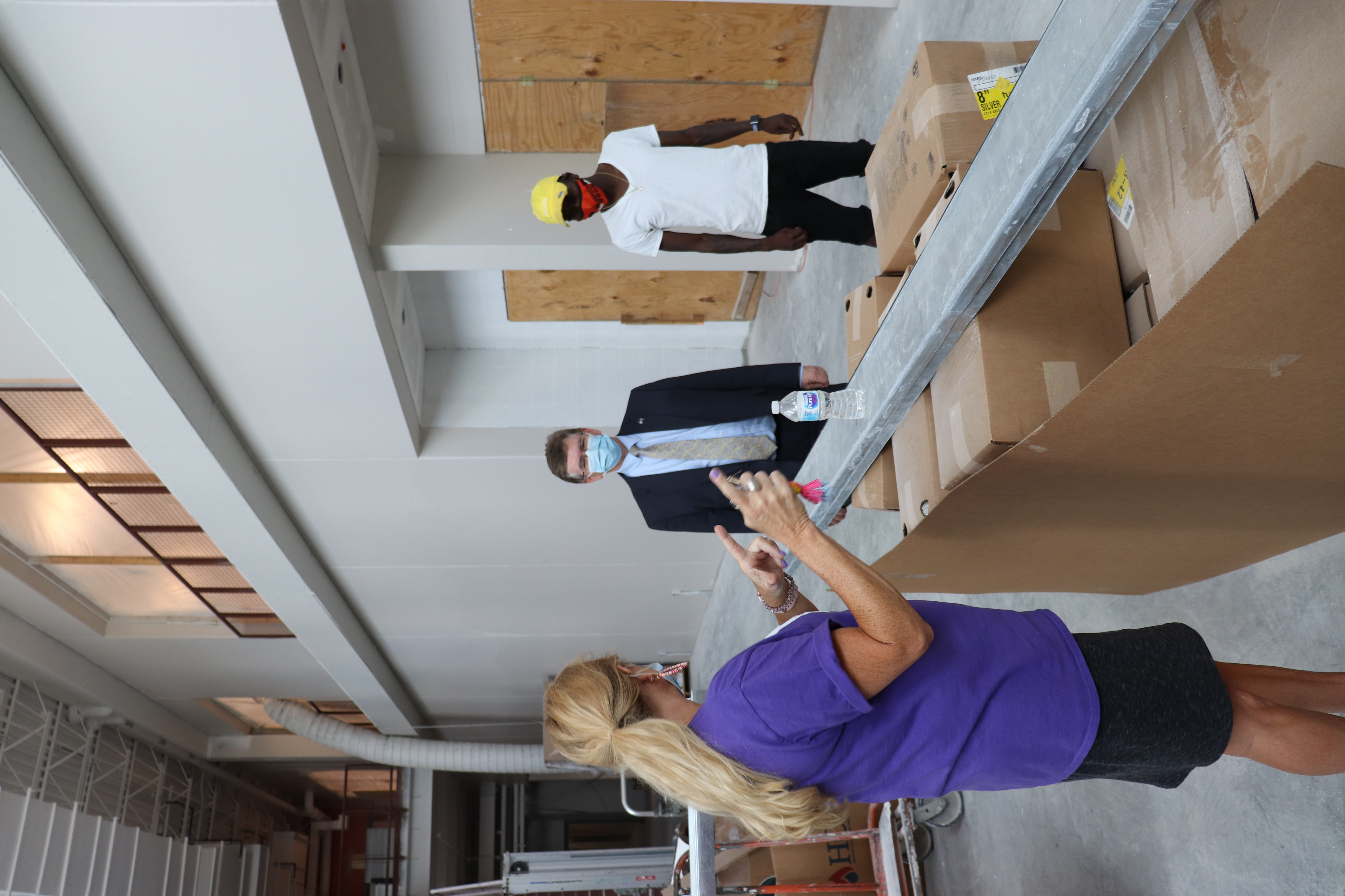 Mayor Takes Tour of New Downtown YMCA